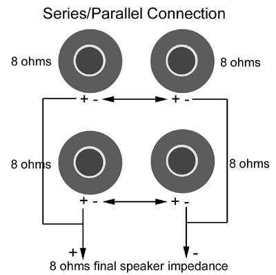 Wiring 8 Ohm Speakers In Parallel - Wire Data Schema •